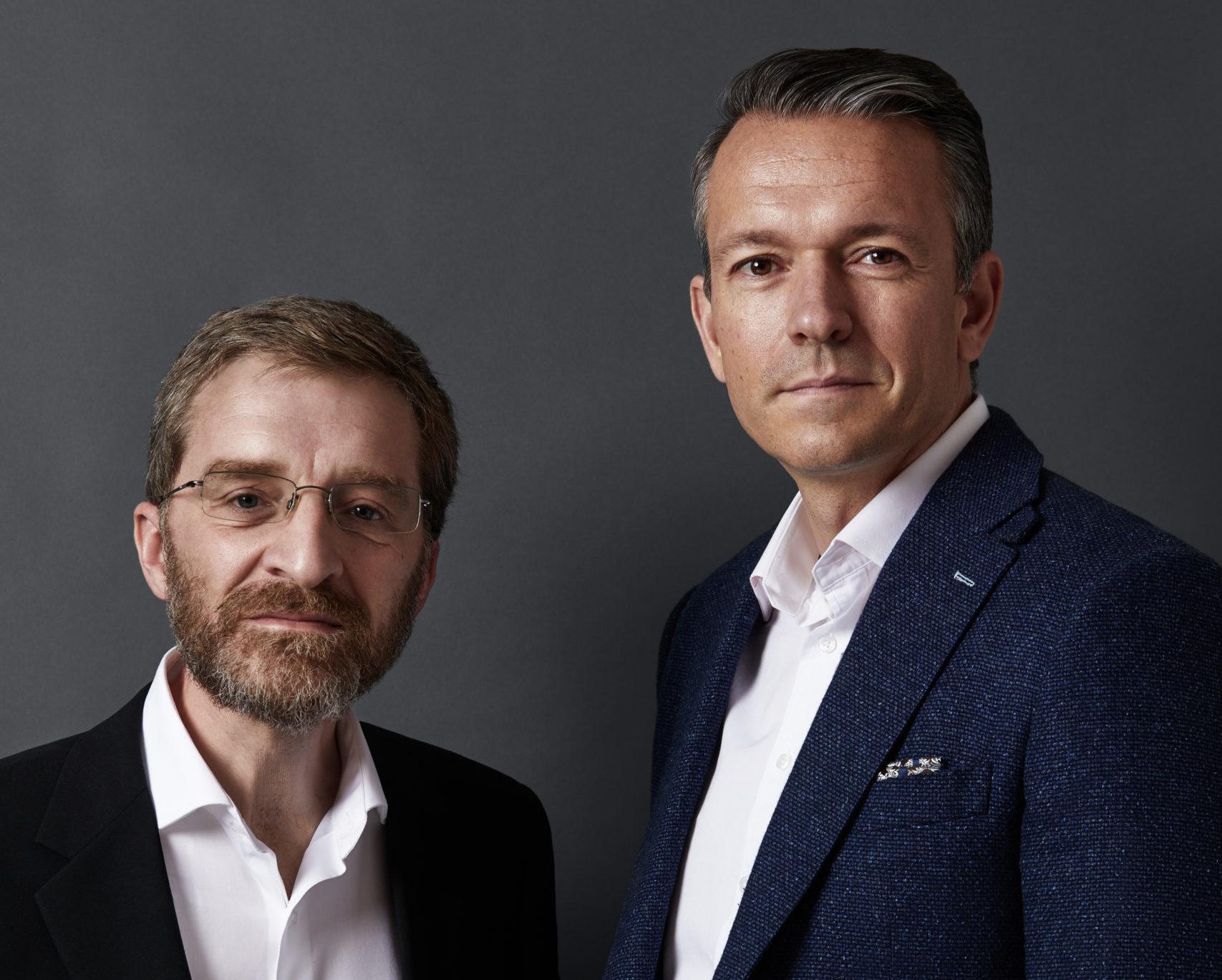 Ashley Unitt, co-founder, and Dennis Fois, CEO 2018 - 2019.